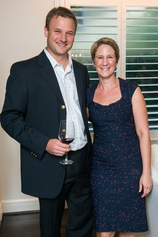 3 Chris and Kathi Peters at the HGO Young Patrons Kick-off September 2014