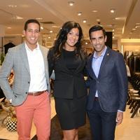 11 Luigi Major, from left, Billie Akauola and Bimal Patel at the Neiman  Marcus 157c01ead2