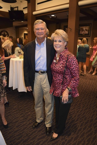 1 Butch and Paula Robinson at the Houston Livestock Show and Rodeo Trailblazer honoree reception October 2014