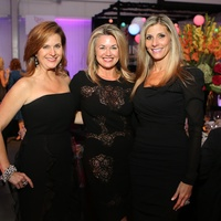 Kim Petersen, from left, Millette Sherman and Gina Bhatia at the March of Dimes Signature Chefs event October 2014