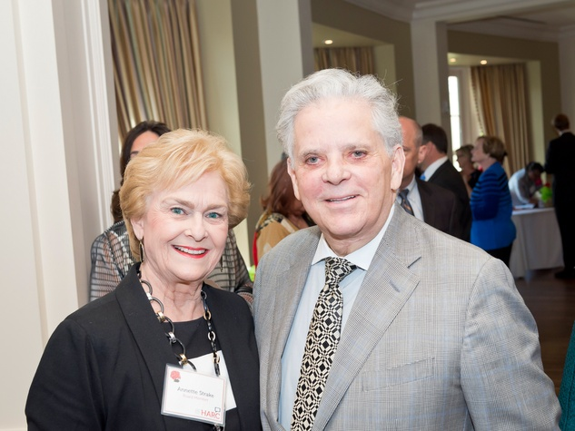 5 Annette Strake and Victor Costa at the Aphasia Recovery Center luncheon March 2014