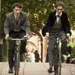 Harry Lloyd and Eddie Remayne in The Theory of Everything