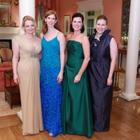 Houston Junior League Charity Ball, February 2013, Catherine McCoin, Liz Love, Keri Herrin, Katie Mears