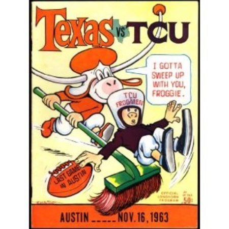 Austin Photo: News_Kevin_ UT vs TCU_Nov 2012_program