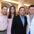 6 Shelby Kibodeaux, from left, Laura Max Nelson, Bruce Padilla and David Peck at Fashion Gene at Tootsies May 2014