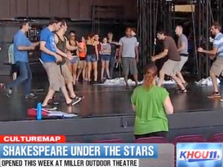 CultureMap Moment Joel Luks Shakespeare Festival Cleopatra at Miller Outdoor Theatre RUN FLAT