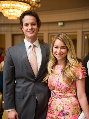 David and Amy Doherty at the Christus Health luncheon March 2014