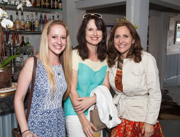 Durham House brunch, March 2016, Katherine Diorschke, Caroline Miner, Carol Salva