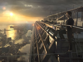 Joseph Gordon-Levitt in The Walk