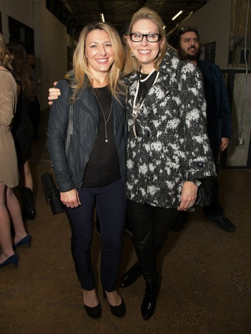 Janelle Pinnell, Cindy Rachofsky, Dallas Contemporary Exhibition Opening