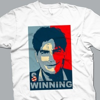 News_Charlie Sheen_winning_T-shirt