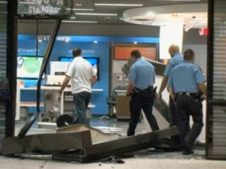 Smash-and-grab, AT&T store, police