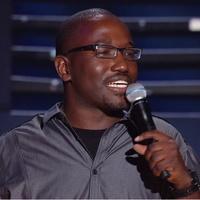 Comedian Hannibal Buress performing Stand-up