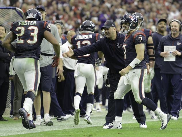 Bill O'Brien Arian Foster Texans