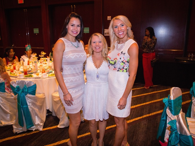 Women's Hospital Labor Day lunch, 8/16, Priscilla Hartranft, Katy Hewson, Kylie Ilieski