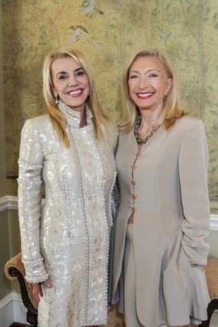 12 Marie Bosarge, left, and Marie LeNotre at the Moores School of Music Luncheon November 2014