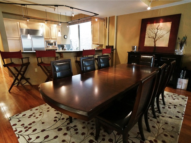 On the Market No. 902 Capitol Lofts July 2014 Dining Room