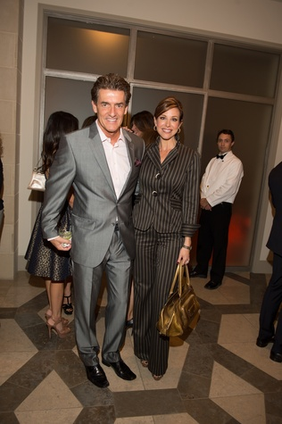 15 Nick Florescu and Dominique Sachse at the Houston Ballet kick-of party October 2014
