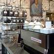 Coffee bar at No. 1 in Highland Park Village