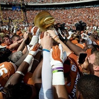Golden Hat Texas OU game