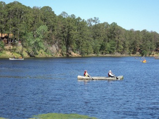 Bastrop State Park Canoeing