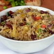 Chinese sausage fried rice at Five Sixty in Dallas