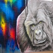 Houston Zoo gorilla mural artist February 2015 Mr. D. 2119 Washington Ave. 2