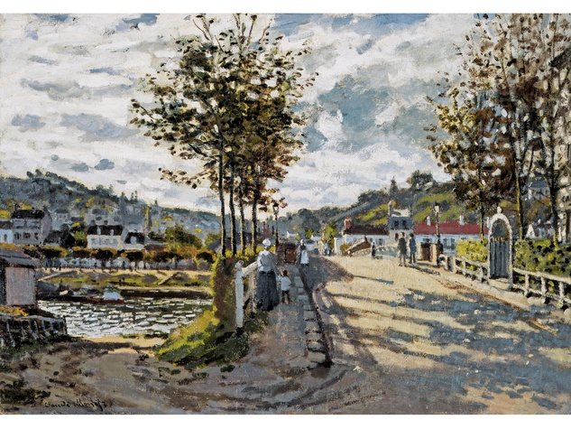 MFAH Claude Monet May 2014 - The Seine at Bougival