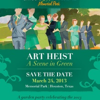 Bayou City Art Festival, A Scene in Green