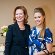 15 Meg Watel, left, and Haylee Watel at Elizabeth Anthony's Generations of Glamour event May 2014