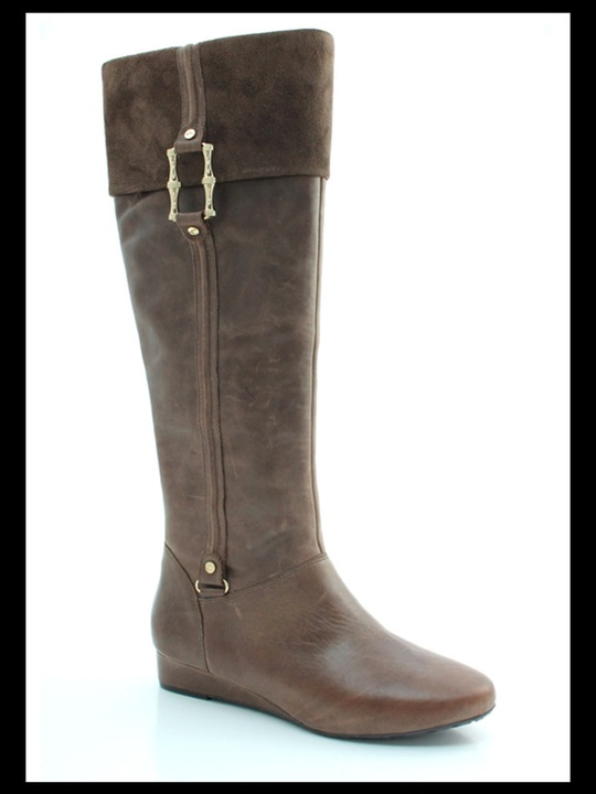 boots, Elaine Turner, Ryan leather riding boots, $395