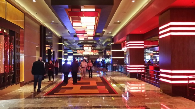 Golden Nugget Lake Charles La. December 2014 grand opening main lobby