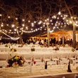 Beyond lighting at wedding in Austin