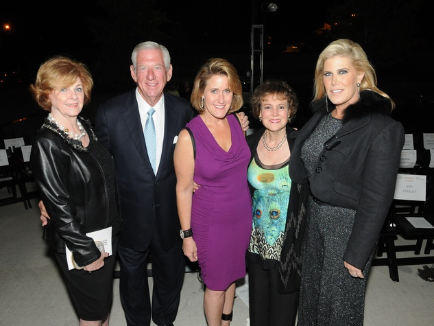 24 Pat McCarter, from left, Morton Cohn, Kirby McCool, Regina Rogers and Courtney Hopson at the Dress for Success 15th anniversary party October 2013