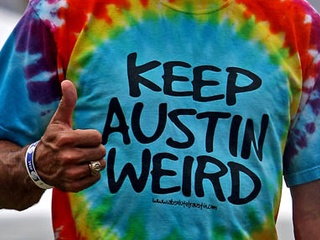 Austin photo: News_Mike_Keep Austin Weird_TShirt