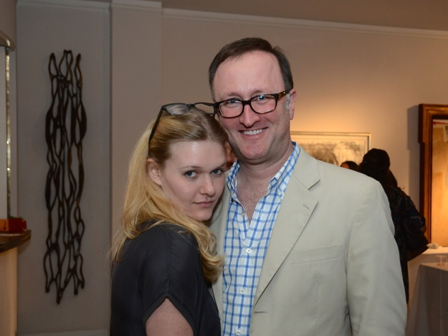 58 Ashton Kaminski and James Glassman at the CultureMap Social at Gremillion and Co. Fine Art March 2015