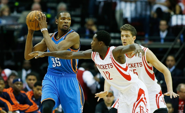 Kevin Durant Rockets keep away