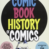 cover for the Comic Book History of Comics