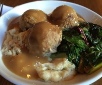 Thanksgiving meatball Winflo Osteria