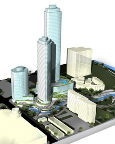 Three skyscrapers are proposed near Waller Creek