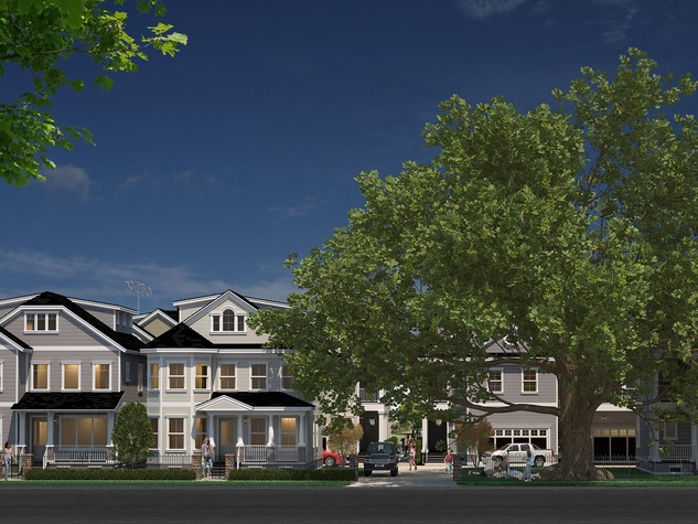 Carnegie Homes The Oaks at Westmoreland now Masterson Oaks at Westmoreland rendering May 2014