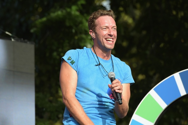 2015 Global Citizens Festival Coldplay Chris Martin