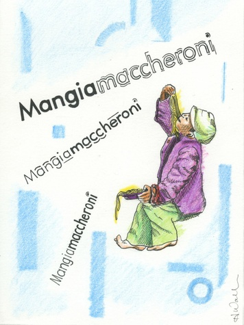 Mangiamaccheroni artwork September 2013