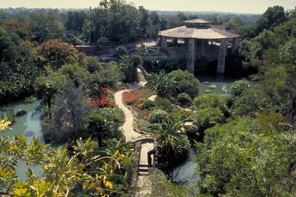Tea garden is a lush green respite courtesy of japanese tea garden