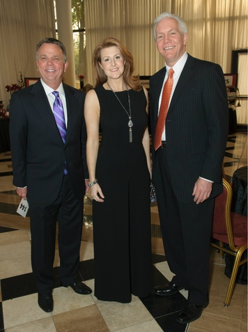 Addison Mayor Todd Meier, Janelle Moore, Bruce Arfsten photo, Water Tower Theater