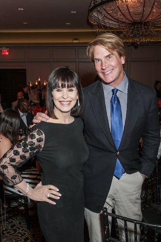 News, Shelby, Houston Arts Alliance, Lee Daniels event, May 2015, Sandra Porter and George Lancaster