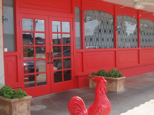 Arturo Boada Cuisine, red rooster, stolen, Red Rooster