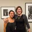3 Aranza Gonzalez, left, and Brittany Currier at the MFAH Art Crowd party September 2014