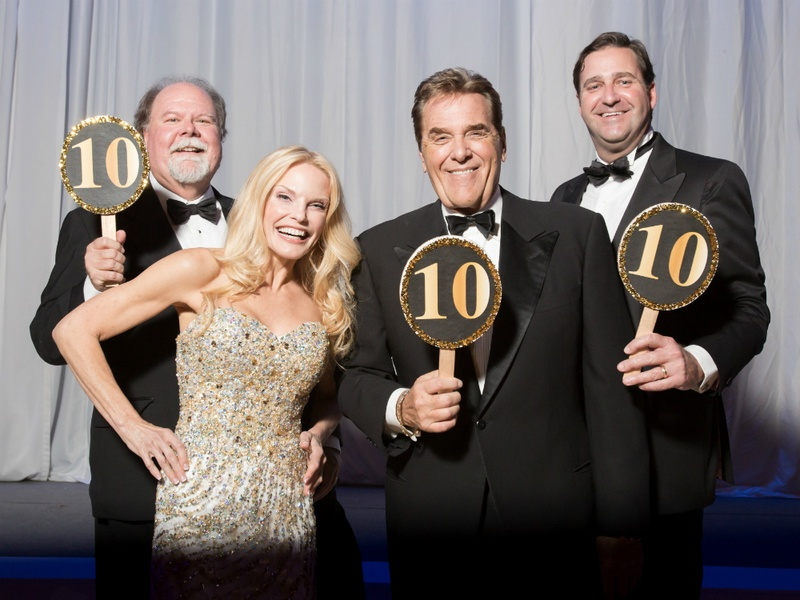 Dancing with the Stars Austin 2014 - Ed Clements Sabrina Barker-Truscott Chuck Woolery Jeff Jumonville