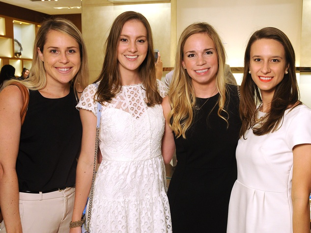 Houston, Louis Vuitton Tambour Horizon launch party, July 2017, Ali Christensen, Colleen Wagner, Jenn Montalvo, Stefani Orscheln